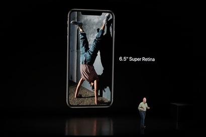 아이폰 XS 맥스는 지금까지 나온 아이폰 중 가장 큰 화면을 자랑한다. 사진=최호섭 제공